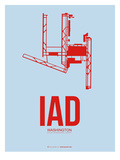Iad Washington Poster 2 Poster by  NaxArt