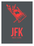 Jfk New York Poster 2 Prints by  NaxArt