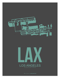 Lax Los Angeles Poster 2 Print by  NaxArt