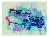 Citroen 2Cv Posters by  NaxArt