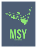 Msy New Orleans Poster 2 Prints by  NaxArt