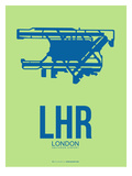 Lhr London Poster 2 Posters by  NaxArt