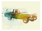 Jeep Wagoneer Prints by  NaxArt