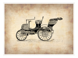 Classic Old Car 2 Prints by  NaxArt