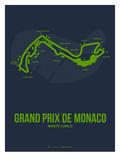Monaco Grand Prix 2 Premium Giclée-tryk af  NaxArt