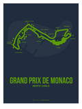 Monaco Grand Prix 2 Poster by  NaxArt
