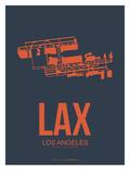 Lax Los Angeles Poster 3 Reprodukcje autor NaxArt