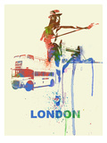 London Romance Prints by  NaxArt