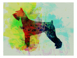Giant Schnauzer Watercolor Posters by  NaxArt