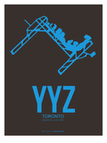 Yyz Toronto Poster 1 Prints by  NaxArt