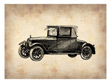 Classic Old Car 3 Print by  NaxArt