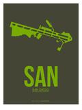 San San Diego Poster 2 Prints by  NaxArt