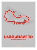 Australian Grand Prix 1 Poster von  NaxArt