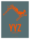 Yyz Toronto Poster 1 Poster by  NaxArt