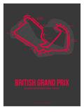 British Grand Prix 2 Poster von  NaxArt