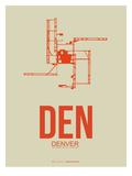 Den Denver  Poster 2 Print by  NaxArt
