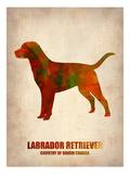 Labrador Retriever Poster Posters by  NaxArt