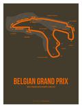 Belgian Grand Prix 1 Premium Giclée-tryk af  NaxArt