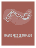 Monaco Grand Prix 1 Posters by  NaxArt