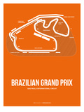 Brazilian Grand Prix 3 Prints by  NaxArt