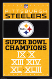 Pittsburgh Steelers Champions Plakat