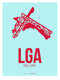 Lga New York Poster 2 Prints by  NaxArt