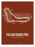 Italian Grand Prix 3 Posters by  NaxArt