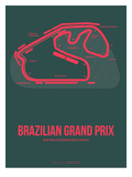 Brazilian Grand Prix 2 Print by  NaxArt