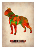 Boston Terrier Poster Posters by  NaxArt