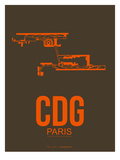 Cdg Paris Poster 3 Prints by  NaxArt