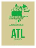 Atl Atlanta Poster 1 Posters by  NaxArt