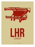 Lhr London Poster 1 Art by  NaxArt