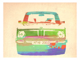 Bmw 2002 Front Watercolor 3 Prints by  NaxArt