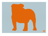 French Bulldog Orange Posters by  NaxArt