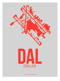 Dal Dallas Poster 1 Print by  NaxArt