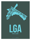 Lga New York Poster 3 Art by  NaxArt