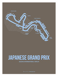 Japanese Grand Prix 1 Posters by  NaxArt