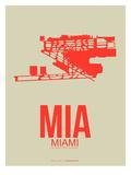 Mia Miami Poster 3 Poster by  NaxArt