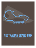 Australian Grand Prix 2 Prints by  NaxArt