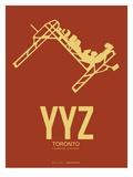 Yyz Toronto Poster 1 Print by  NaxArt