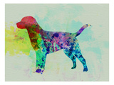 Labrador Retriever Watercolor Posters by  NaxArt