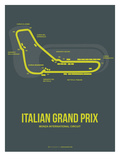 Italian Grand Prix 2 Prints by  NaxArt