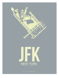 Jfk New York Poster 1 Prints by  NaxArt