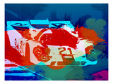 Porsche 917 Racing 1 Print by  NaxArt