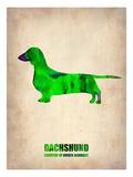 Dachshund Poster 1 Print by  NaxArt