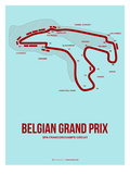 Belgian Grand Prix 3 Poster by  NaxArt