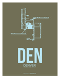 Den Denver  Poster 3 Posters by  NaxArt