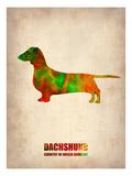 Dachshund Poster 2 Prints by  NaxArt