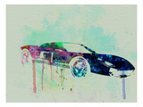 Ford Gt Watercolor 2 Prints by  NaxArt