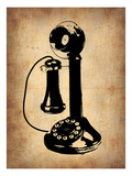 Vintage Phone 2 Prints by  NaxArt